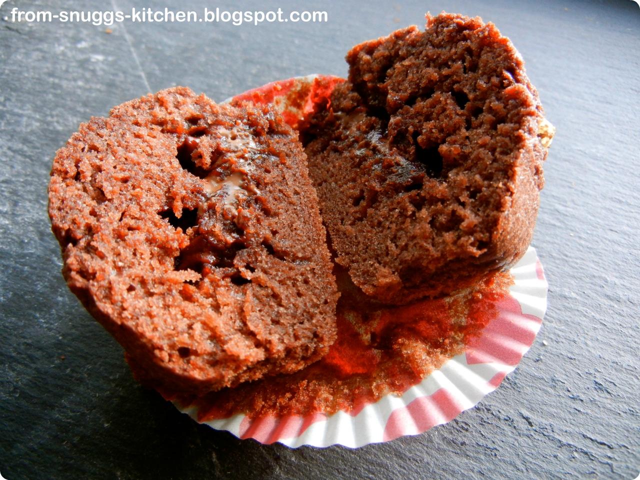 schoko muffins ohne zucker from snuggs kitchen. Black Bedroom Furniture Sets. Home Design Ideas