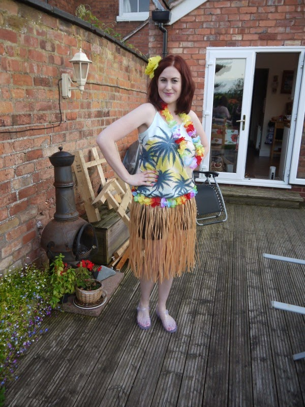 Hula Girl fancy dress