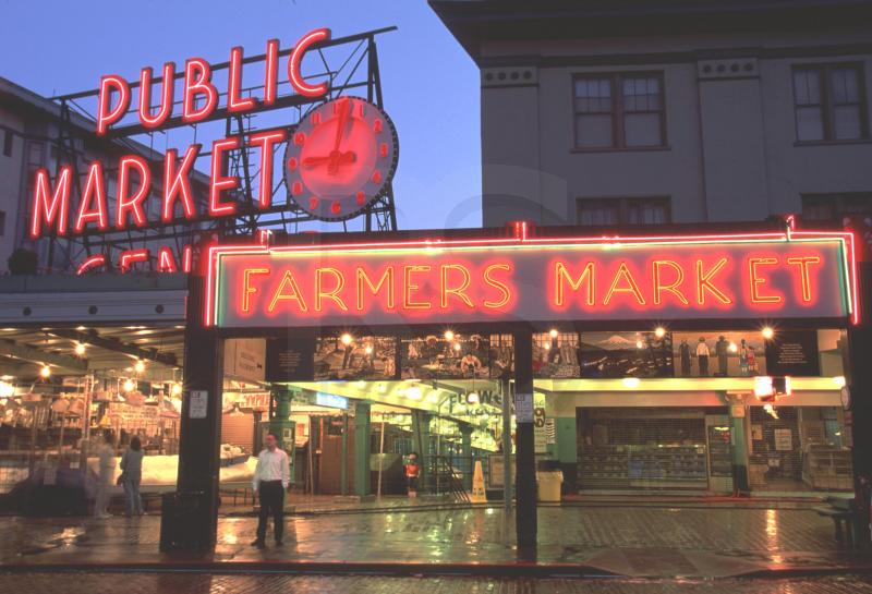 Have list will travel destination seattle for Fish market in seattle