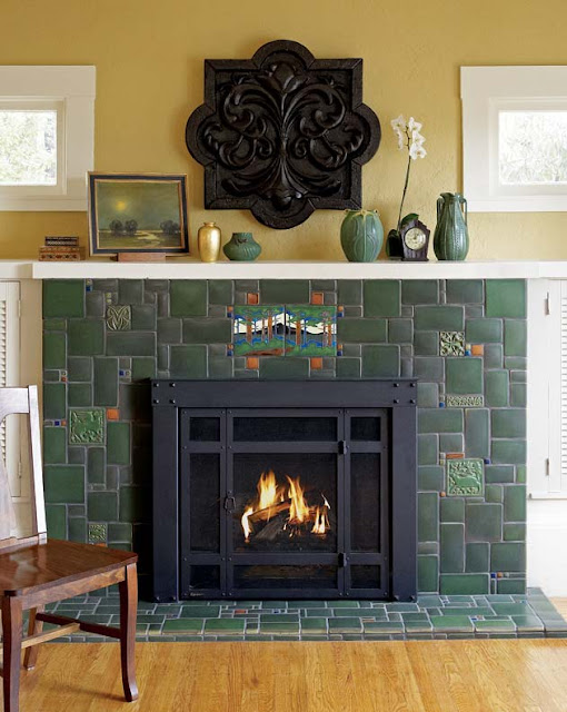 Artistic license news fireplace ideas for bungalows for Bungalow fireplace ideas