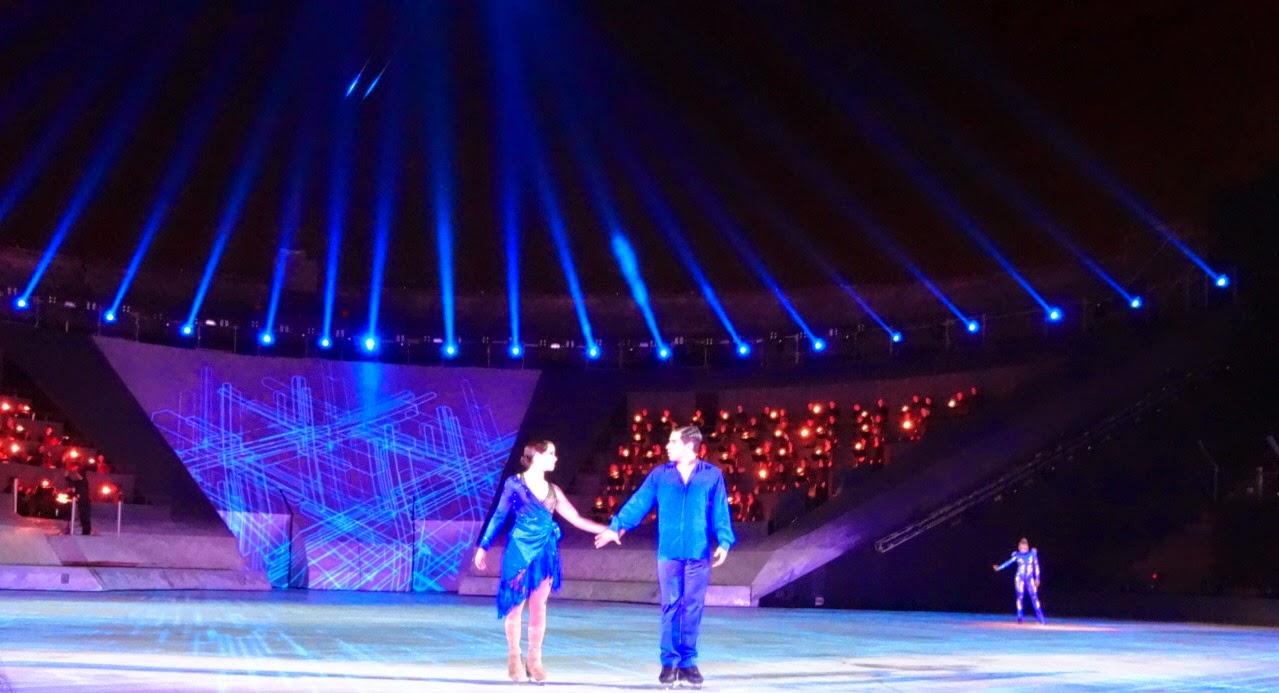 intimissimi on ice opera pop 2014, carolina kostner, stéphane lambiel, arena di verona, pattinaggio sul ghiaccio, anna cappellini, luca lanotte