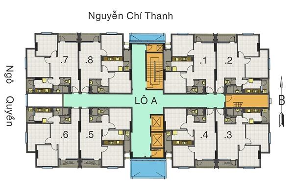 Bán chung cư 155 Nguyễn Chí Thanh Quận 5 chỉ 1, 5 tỉ/ căn, ưu đãi đến 15%