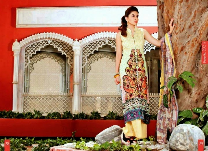 Exclusive Lawn Designs for Ladies