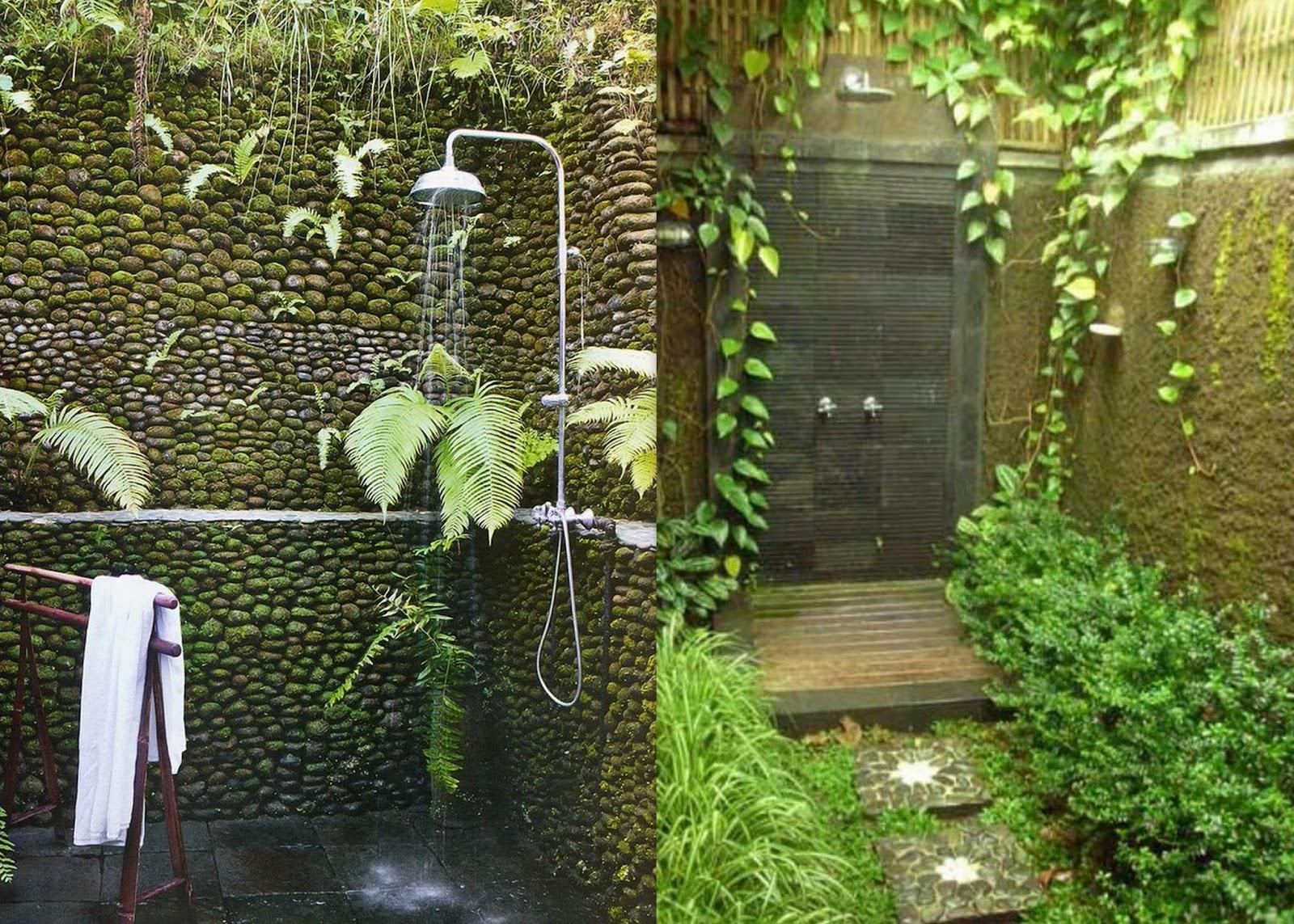 Gypsy yaya outdoor showers for Outdoor themed bathroom decor