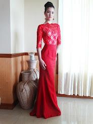 Moda: Edwin Rosario, Modelo: Crystal Rodriguez
