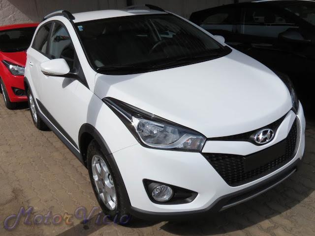 Hyundai HB20 X 2013 - branco