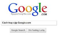 Cach truy cap Google.com