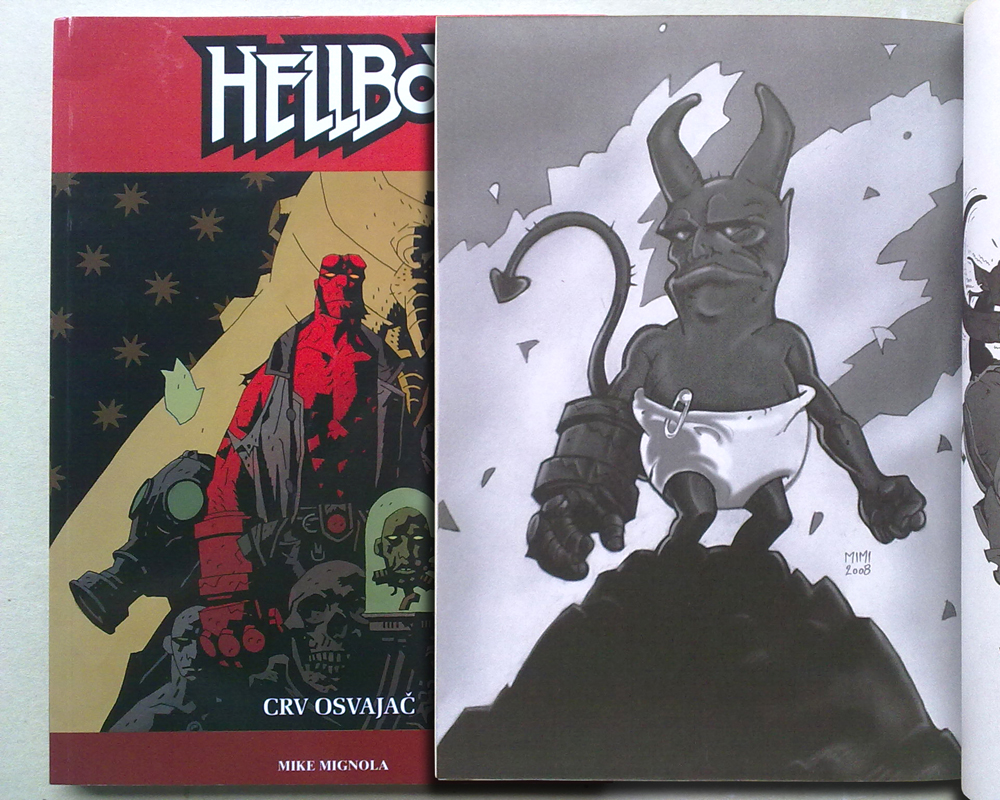 Hellboy 19 - Crv osvajac