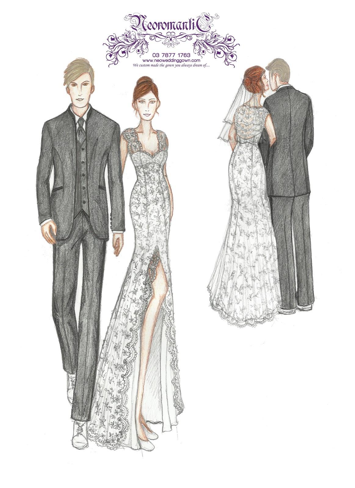 Neoromantic Bridal Sdn. Bhd----Tailor made wedding gown: Melissa ...