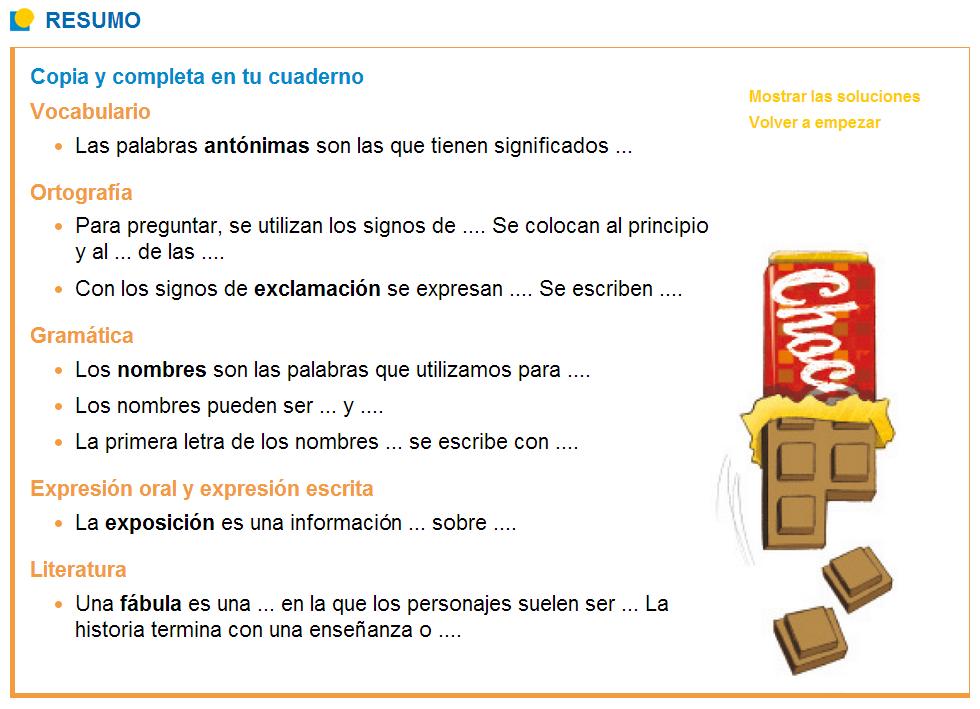 http://www.primerodecarlos.com/TERCERO_PRIMARIA/octubre/Unidad3/actividades/lengua/resumen/index.html