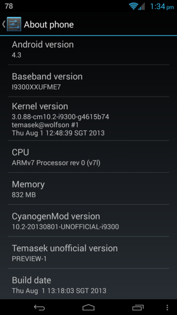 CM 10.2 For Galaxy S3