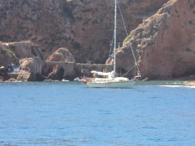 Berlengas anchorage