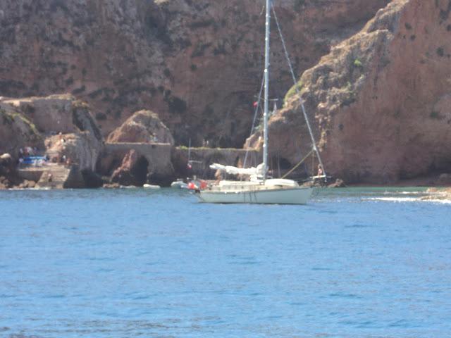 Berlengas anchorage