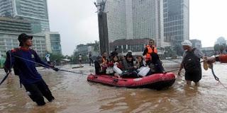 Diprediksi, 27 Januari Jakarta Tenggelam