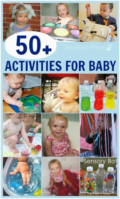 50 Super Fun Activities Just For Baby