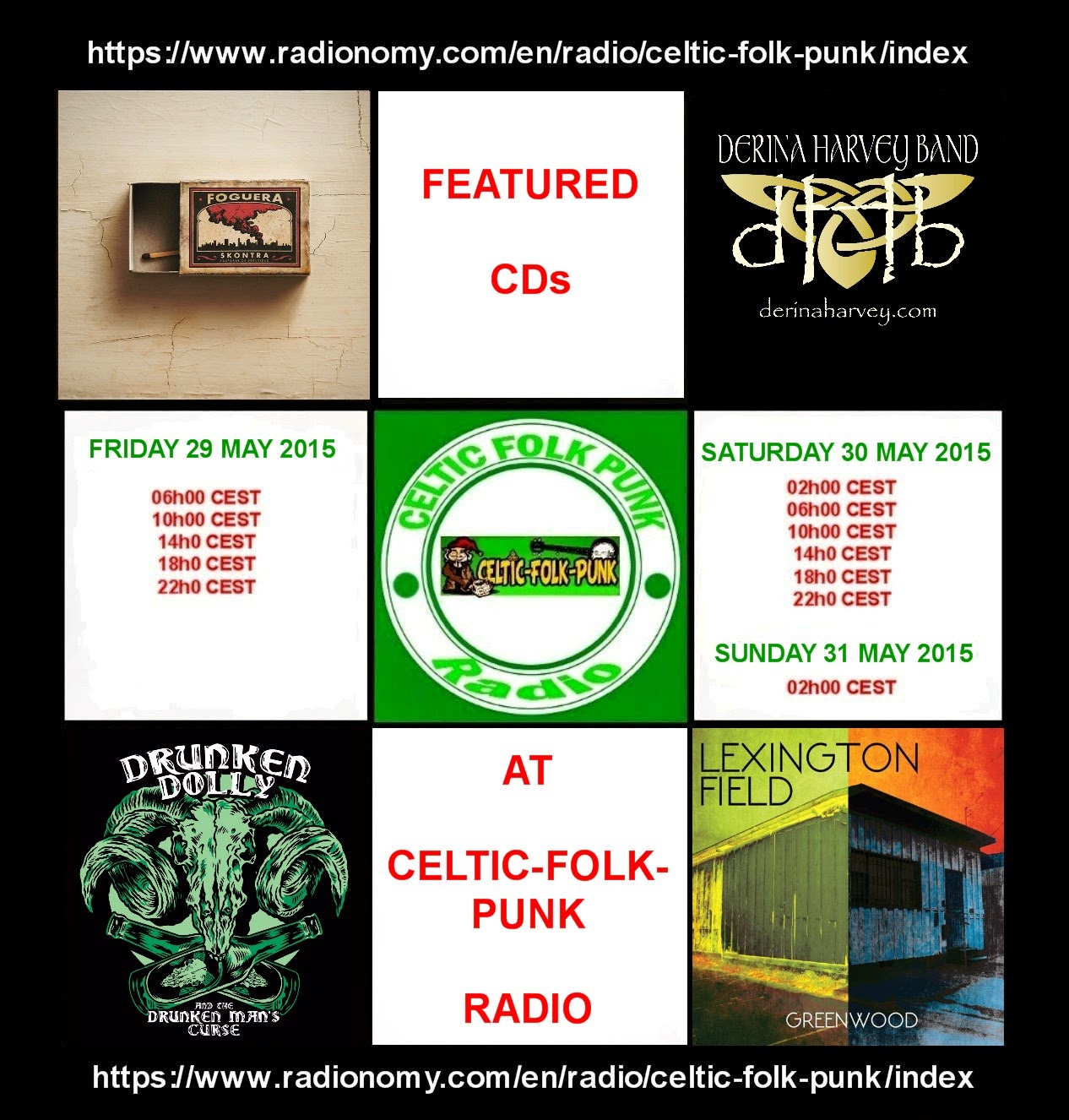 FEATURED CDs AT CELTIC-FOLK-PUNK RADIO (29-30 May 2015 ...