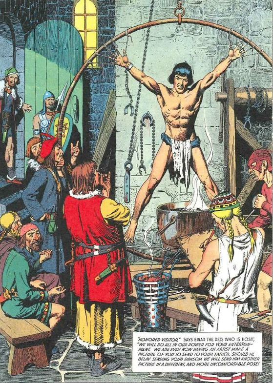 Comic image prince strip valiant consider
