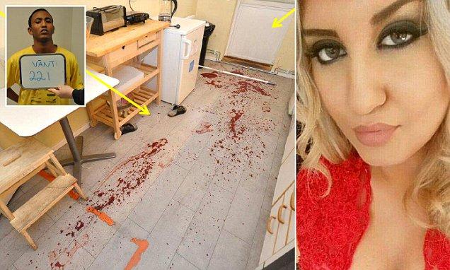 22χρονη Σουηδέζα καλλονή μαχαίρωσε και σκότωσε κτήνος που κουβαλούν τα κατά τόπους τοπικά κτήνη σε κέντρο υποδοχής εισβολέων