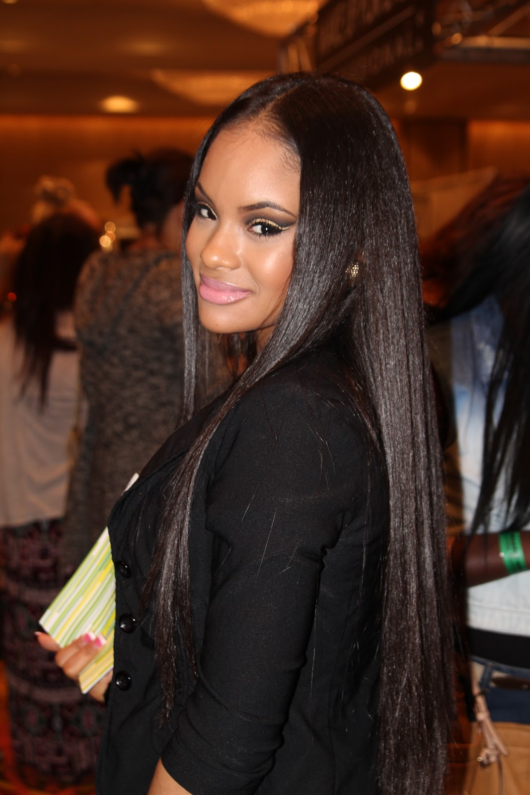 Relaxed Hair Health Chemically Straightened Healthy Hair