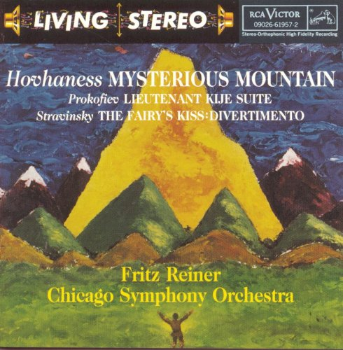 Alan Hovhaness Symphony no.2 Mysterious Mountain Fritz Reiner Chicago Symphony Orchestra