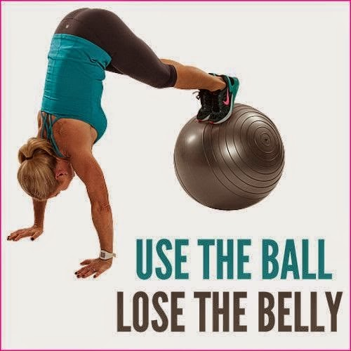 Lose The Belly Fat To Use The Ball