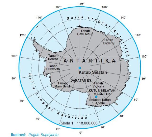 Karakteristik Benua Antartika Lengkap