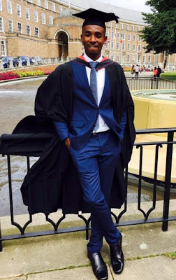 Nollywood Director, Ikenna Aniekwe Graduates with First Class in Law from UK University