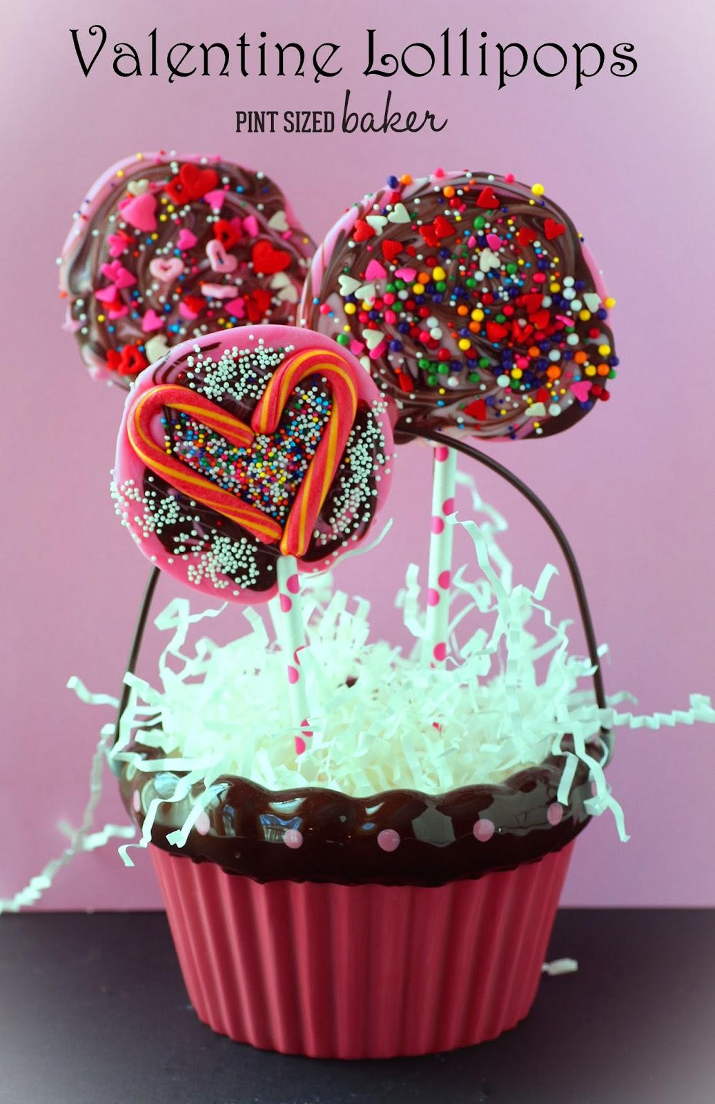 kids valentines lollipops - Valentine Lollipops