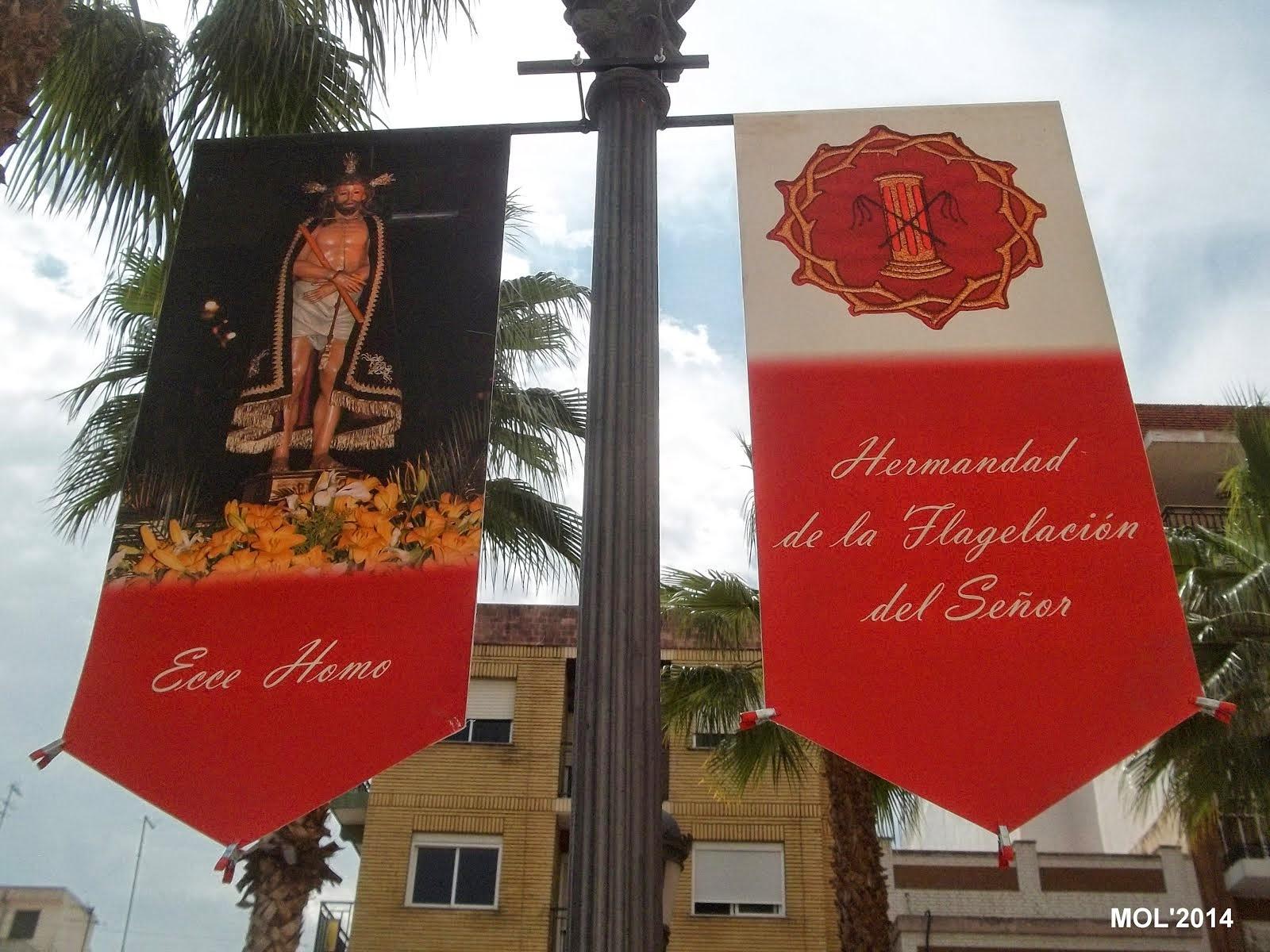 PROCESIÓN DE LA HERMANDAD DE LA FLAGELACIÓN: 14.04.14