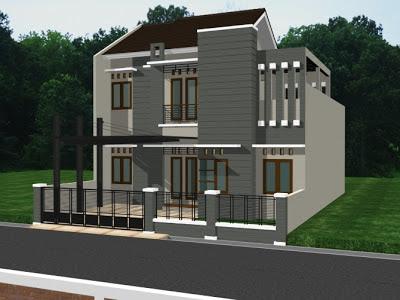 Bentuk Rumah Idaman Modern