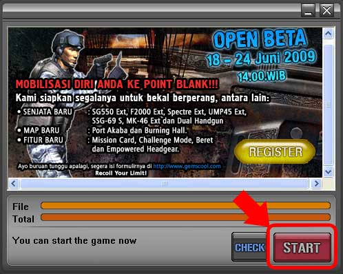 cara download point blank game online
