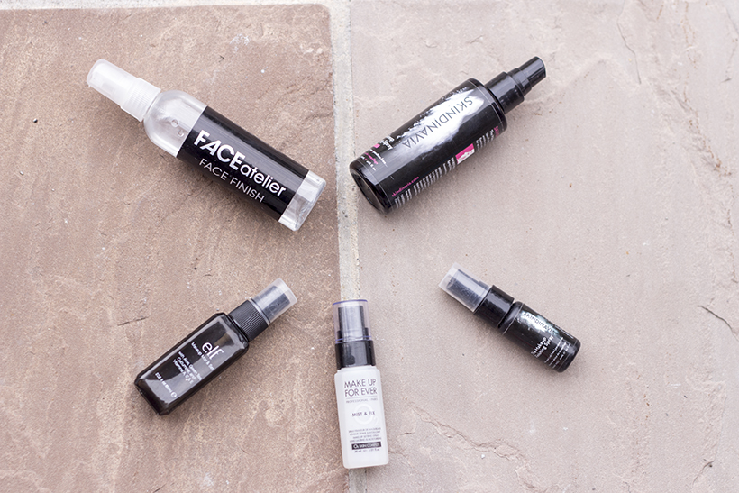 Primer/Setting/Finishing Sprays: Review and Comparison (MUFE, Face ...