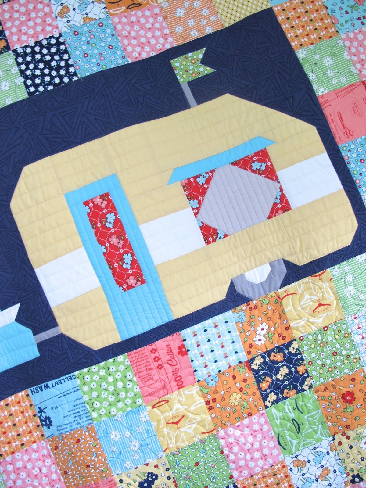 Camper Quilt Patterns Magnificent Decoration