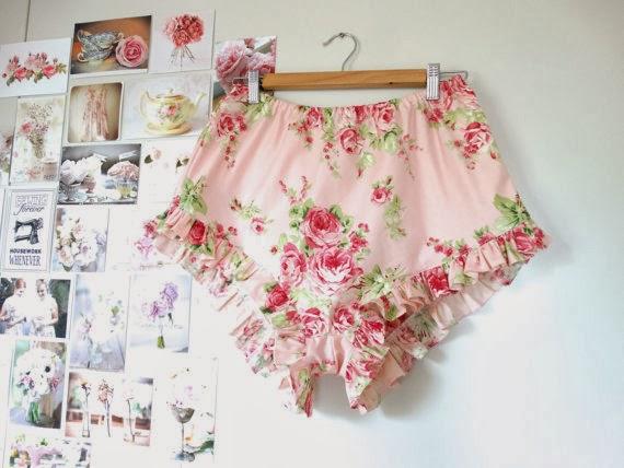 Hunnah-Lea Knickers Vintage Fabric