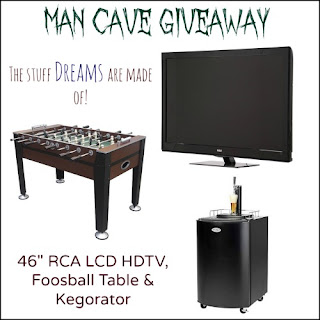 MAN CAVE GIVEAWAY – 6/14 to 7/5 – Hurry and Enter Now!