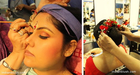 bridal makeup artist in kolkata