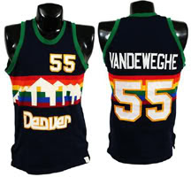 denver nuggets throwback jersey