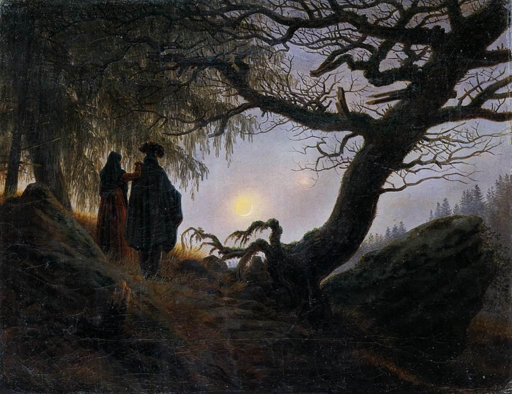 caspar-david-friedrich-pareja-luna