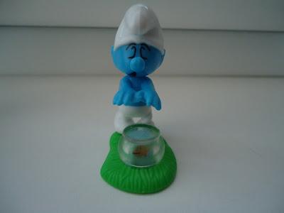 Sleepwalking Smurf