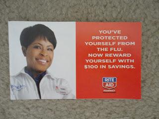 Rite Aid flu booklet