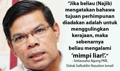 Dato' Saifuddin Nasution Setiausaha Agung Parti Keadilan Rakyat