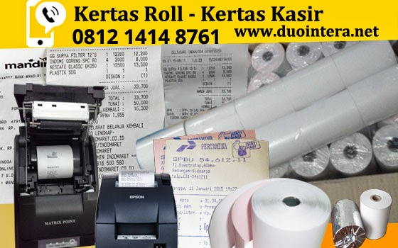 Kertas Kasir jakarta, Kertas Roll Jakarta, Kertas Thermal Jakarta