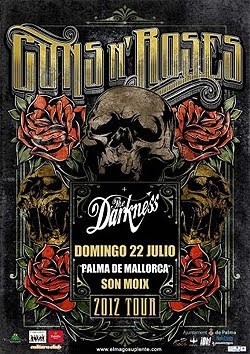 Guns N' Roses y The Darkness en Mallorca