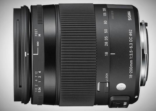 Sigma 18-200mm f/3.5-6.3 DC Macro OS HSM