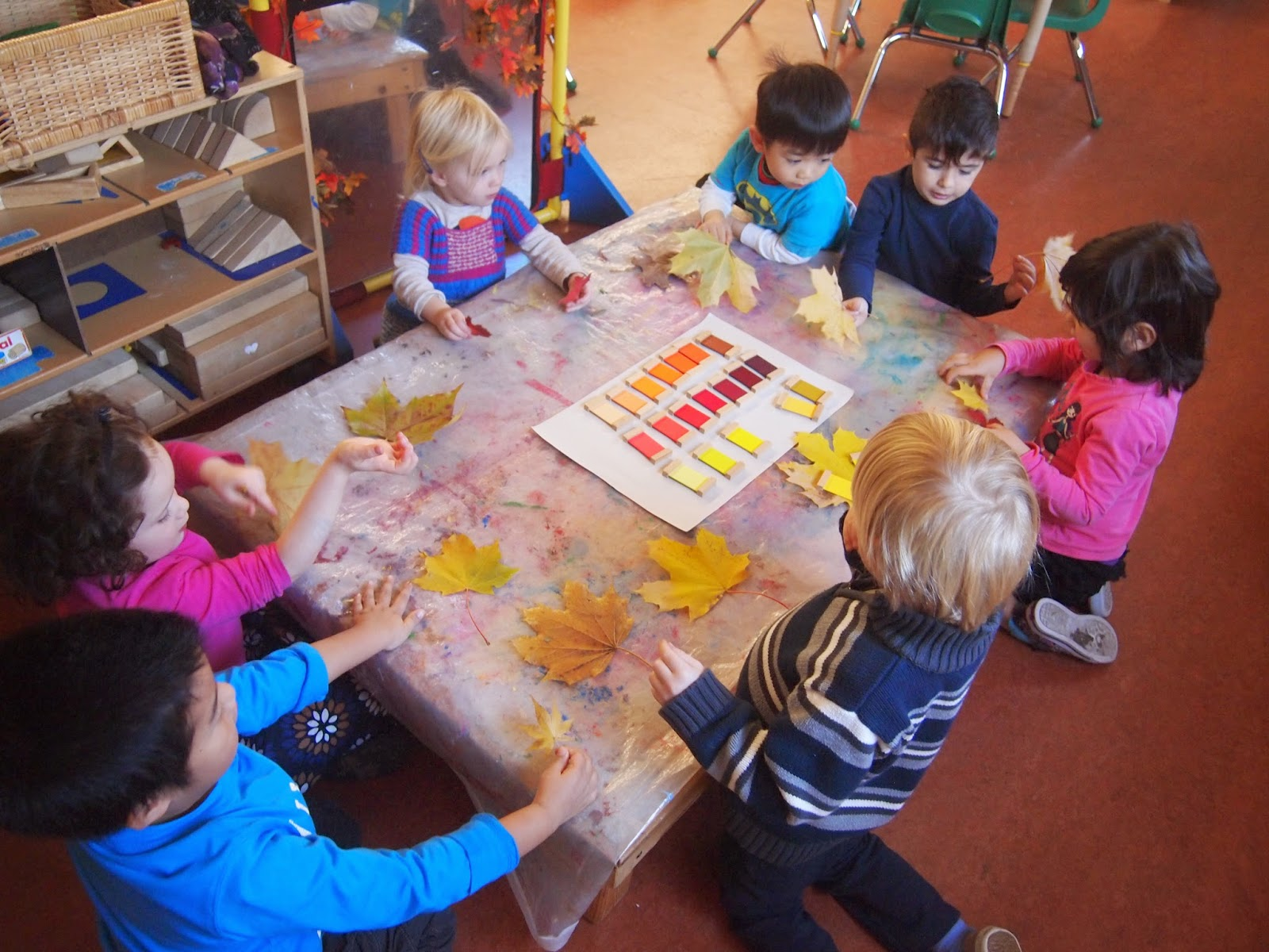 Colour shades activities - The Colour Tablet Box 3 From Montessori Sensorial Area Were Introduced To The Children Today For Our Art Activity I Demonstrated How We Can Grade Different