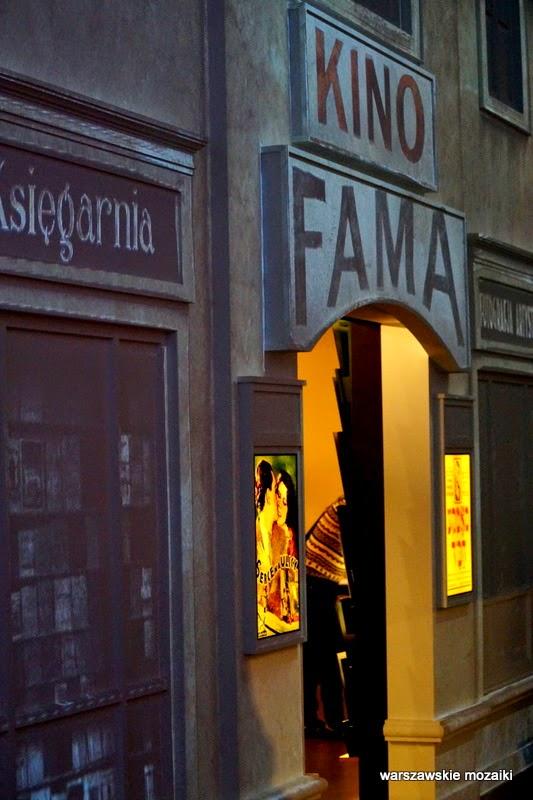 kino Fama ulica żydowska Muranów getto muzea Warszawa Żydzi architektura wystawa