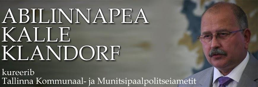 Abilinnapea Kalle Klandorfi blogi