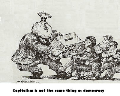 capitalism is not the same thing as democracy