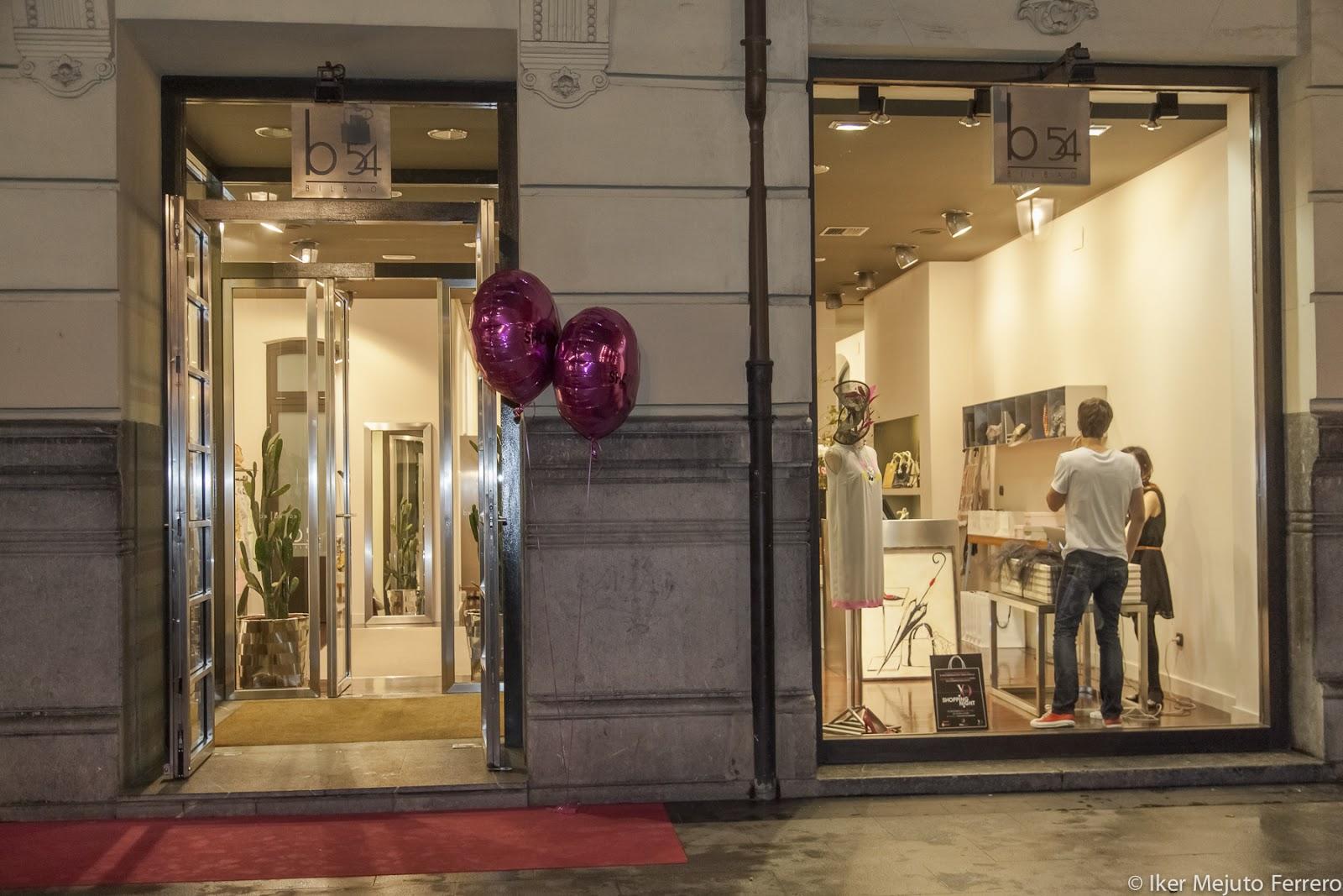 Bilbao shopping night alguna de las mejores tiendas para for B54 bilbao