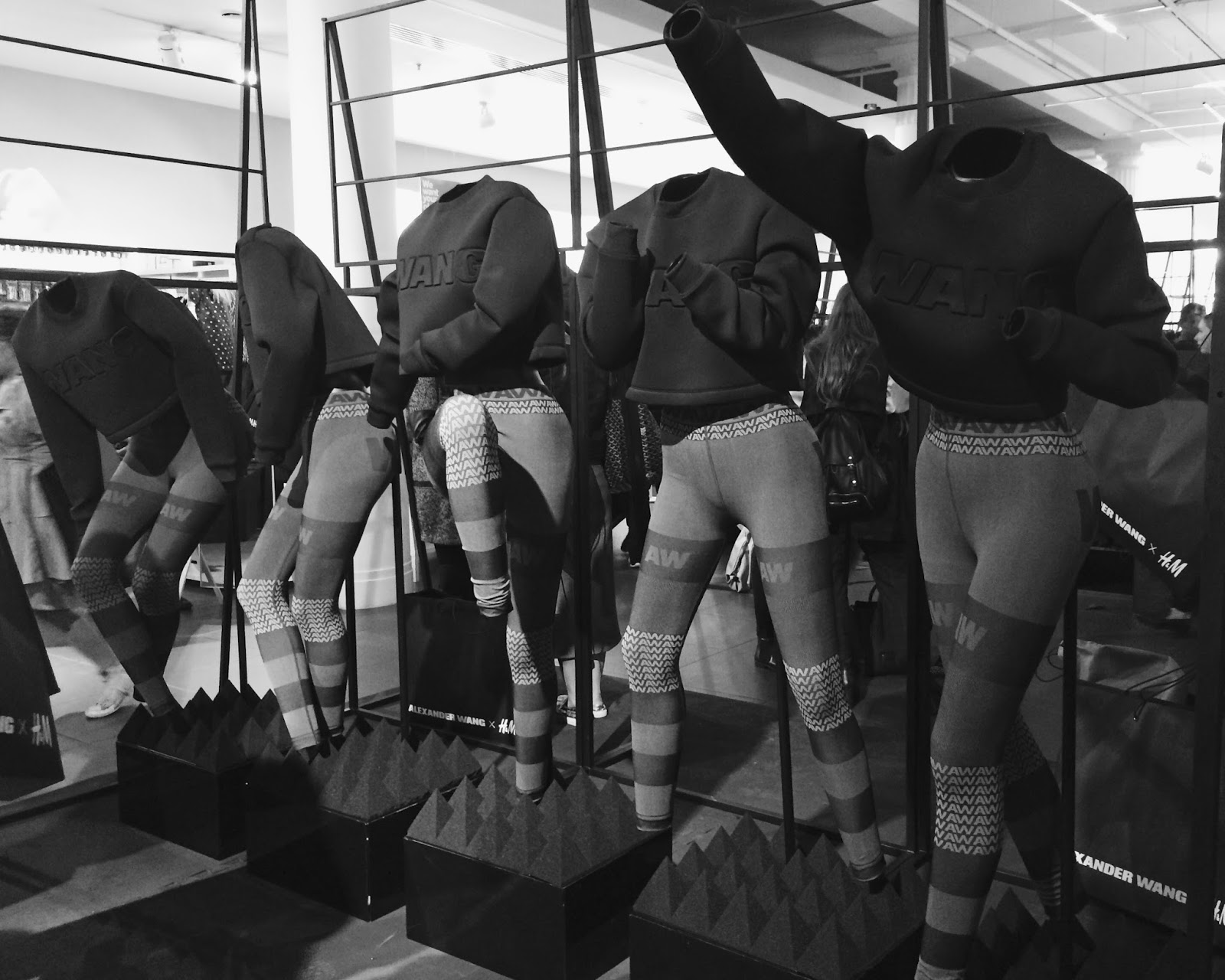 Alexander Wang x H&M Collection - Mannequins